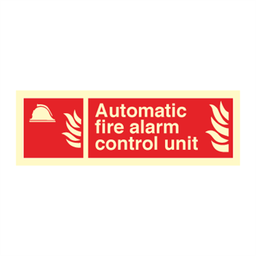 Automatic fire alarm... - Fire Signs