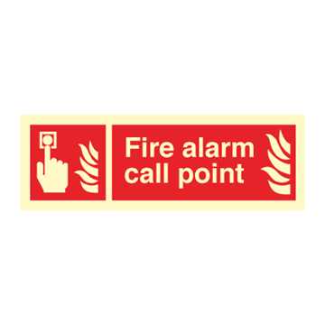 Fire alarm call point - Fire Signs