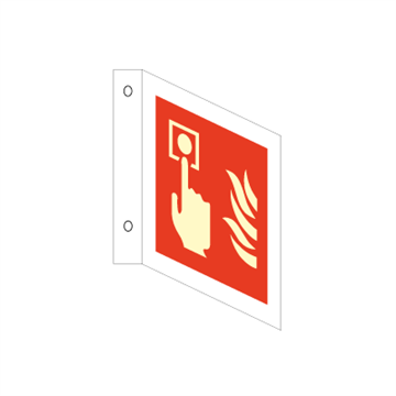 Fire alarm - Three Way Signs