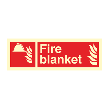 Fire blanket - Fire Signs