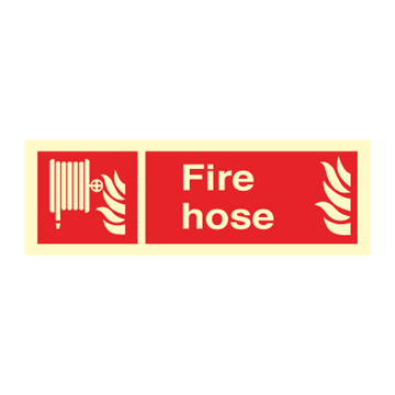 Fire hose - Fire Signs