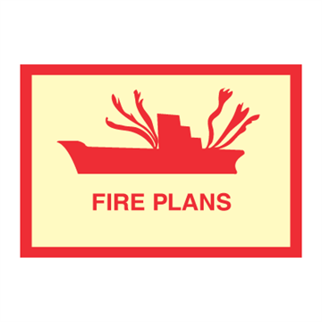 Fire plan - Fire Signs