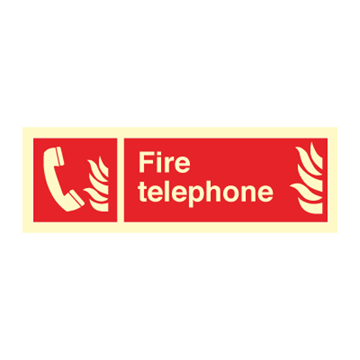 Fire telephone - Fire Signs