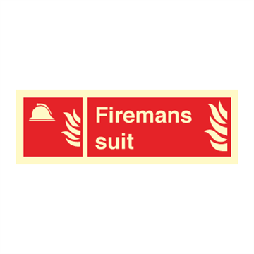 Firemans suit - Fire Signs