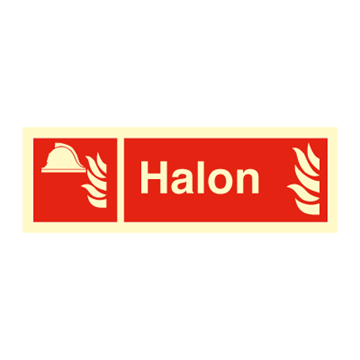 Halon - Fire Signs