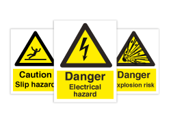 Fare- og varselskilt (IMO Hazard and Warning Signs)