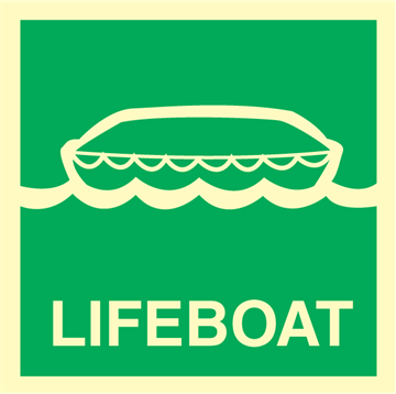 Lifeboat - Emergency Signs
