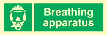 Breathing Apparatus - Emergency Signs
