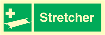 Stretcher - Emergency Signs