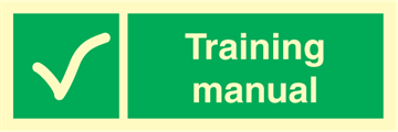 Training manual - Emergency Signs