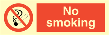 No smoking - Prohibition Signs