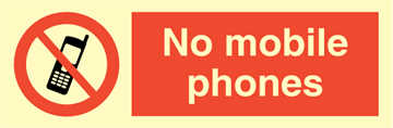 No mobile phone
