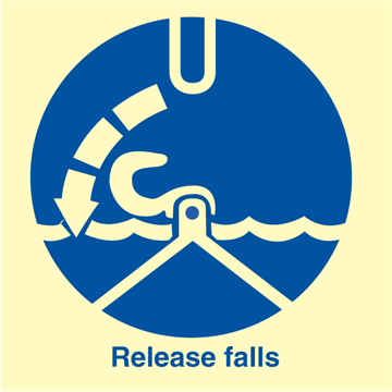 Release falls - IMO Signs