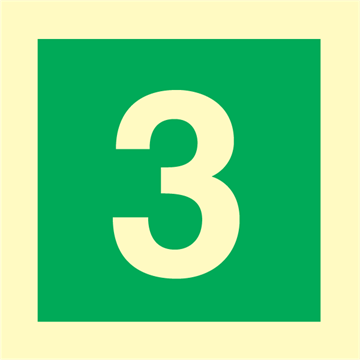 Number 3 - IMO Signs