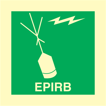 EPIRB - IMO Signs