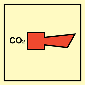 CO2 Horn - Fire Control Signs