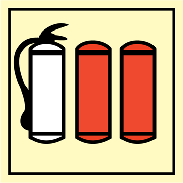 Refill for fire extinguisher - Fire Control Signs