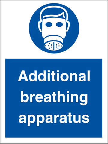 Additional breathing - Mandatory Signs