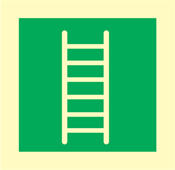 Embercation ladder - Emergency Signs
