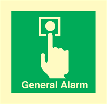 Manual call point - Emergency Signs